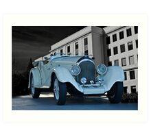1927 Bentley Roadster Art Print