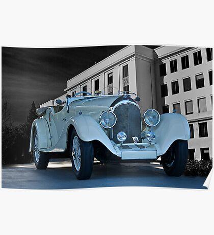 1927 Bentley Roadster Poster