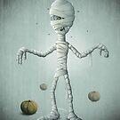 Halloween Mummy by jordygraph