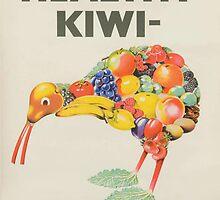 Healthy Kiwi  by Darian  Zam