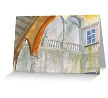 Faded Glory by John Rees Greeting Card