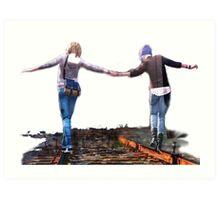 Michael Railroad (Life is Strange)  Art Print