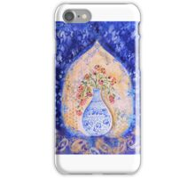 Cobalt vase. iPhone Case/Skin