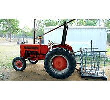Trevor - my 1960 International B-275 Farmall :) Photographic Print