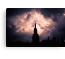 Gothic Skies Canvas Print