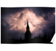 Gothic Skies Poster