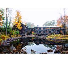 Autumn Downstream Photographic Print