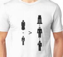 Doctor Who Maths - Season 2, Rose Unisex T-Shirt