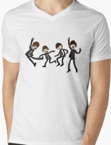 Beatles Time! Mens V-Neck T-Shirt