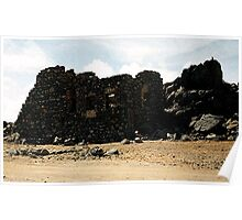 Aruba Carribean Island Beach Scene Poster