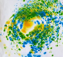 Spiral Spillage 01 - Painting by dab88