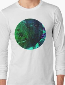 green & blue, on to wax Long Sleeve T-Shirt