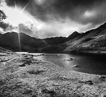 Mt. Snowdon in the Distance, Snowdonia by Heidi Stewart