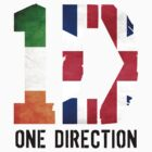 One DIrection - Irish & British Flag - with Logo by cbazoe