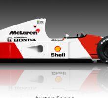 Ayrton Senna - McLaren MP4/7 Sticker