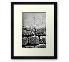 Stretch out and Wait Framed Print