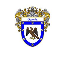 Garcia Coat of Arms/Family Crest Photographic Print