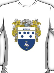 Garza Coat of Arms/Family Crest T-Shirt