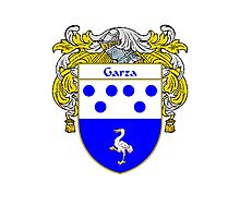Garza Coat of Arms/Family Crest Photographic Print