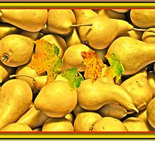 5 Peck of Pears by Carolyn Clark