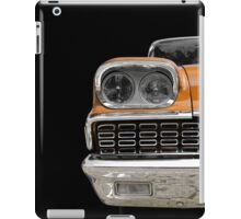 Classic Car (orange) iPad Case/Skin