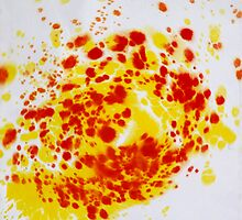 Spiral Spillage 07 - Painting by dab88