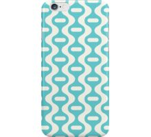 Blue Retro Wave iPhone Case/Skin