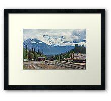 Banff Station, Alberta, Canada Framed Print