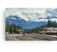 Banff Station, Alberta, Canada Canvas Print