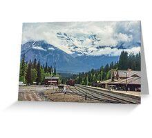 Banff Station, Alberta, Canada Greeting Card