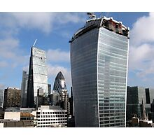 Gherkin - Cheesegrater and Walkie Talkie Photographic Print