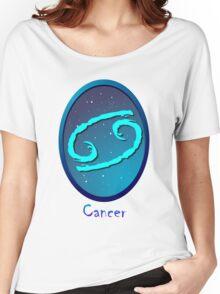 Zodiac sign Cancer Women's Relaxed Fit T-Shirt