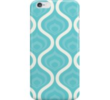 Blue Retro Waves iPhone Case/Skin