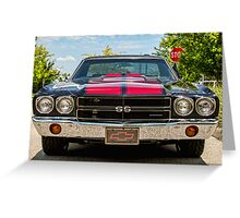 Muscle Greeting Card