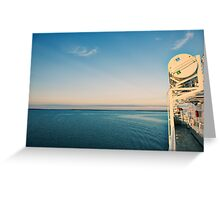 Going to the Island Greeting Card