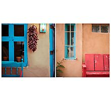August Diptych 2014 Photographic Print