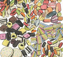 Rainbow Sweets by Grace Mutton