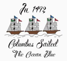 Columbus day T-Shirts & Hoodies by mike desolunk