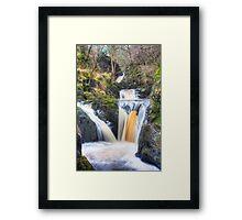 Ingleton Falls Framed Print