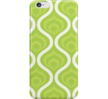 Green Retro Waves iPhone Case/Skin