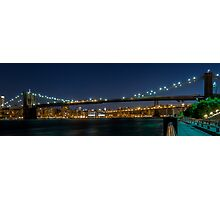 Brooklyn Bridge  3x1 Photographic Print