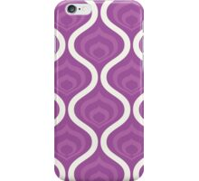 Purple Retro Waves iPhone Case/Skin