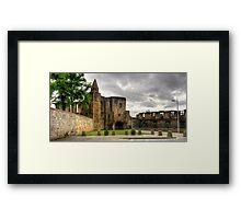 Dunfermline Abbey Gatehouse Framed Print
