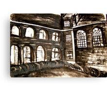 varndean courtyard Canvas Print