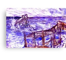 Stormy Brighton Canvas Print