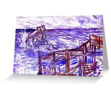 Stormy Brighton Greeting Card