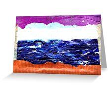 sea window Greeting Card