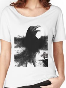 caw caw! tee shirt Women's Relaxed Fit T-Shirt