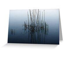 Reflection on a lake, Utah Greeting Card