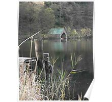 Autumn on Loch Ard Poster
